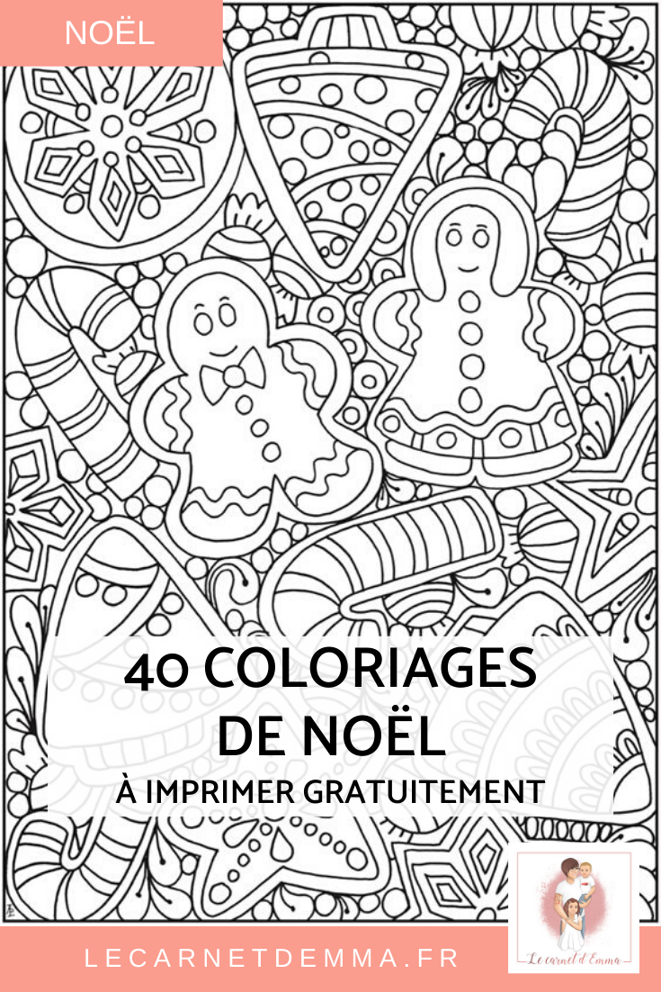 Coloriage De Noel Gratuit A Imprimer
