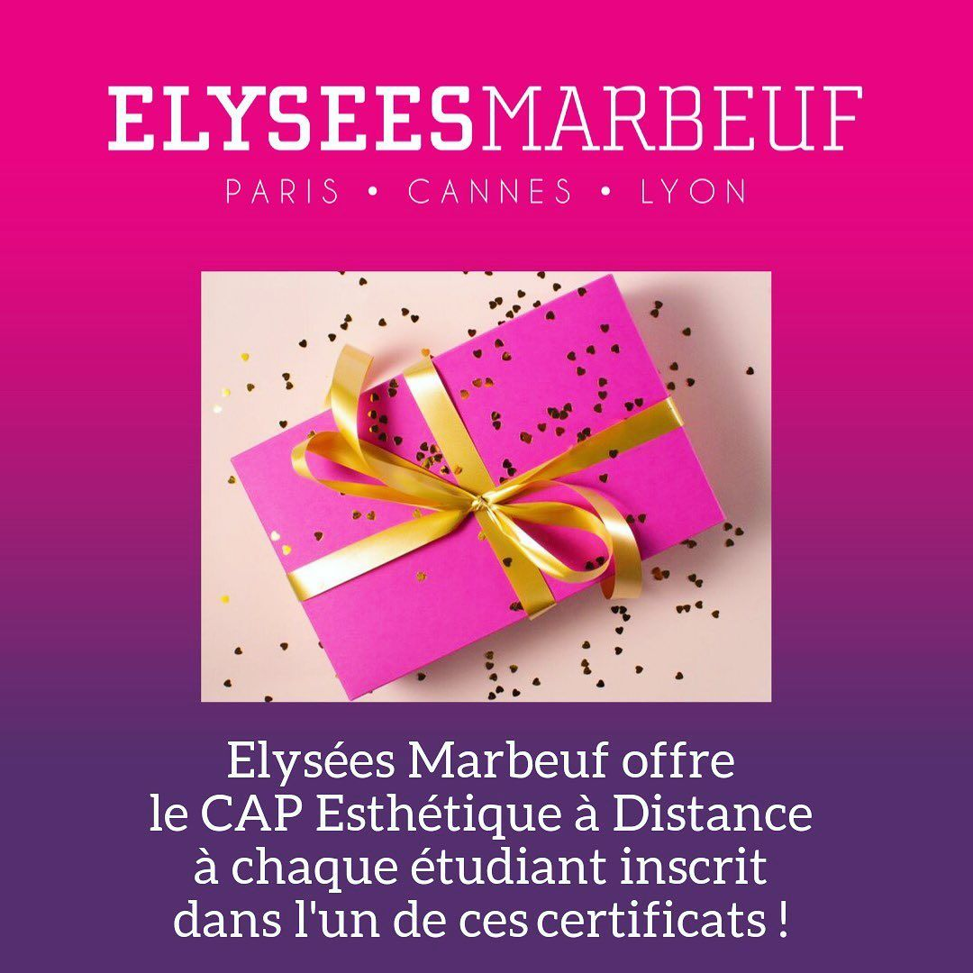 Elysees Marbeuf Offre Le Cap Esthetique A Distance A Chaque Etudiant Inscrit A L Un De Ses Certificats Certificat International D Esthetique Ce Book Cover