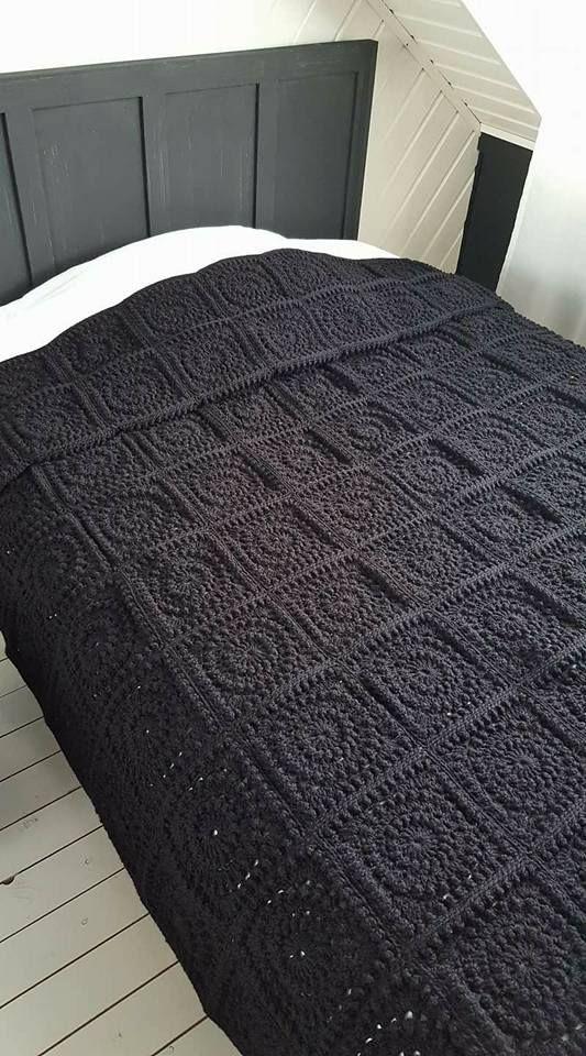 Haakpatroon Circle Of Friends Deken Blanket Pinterest Crochet