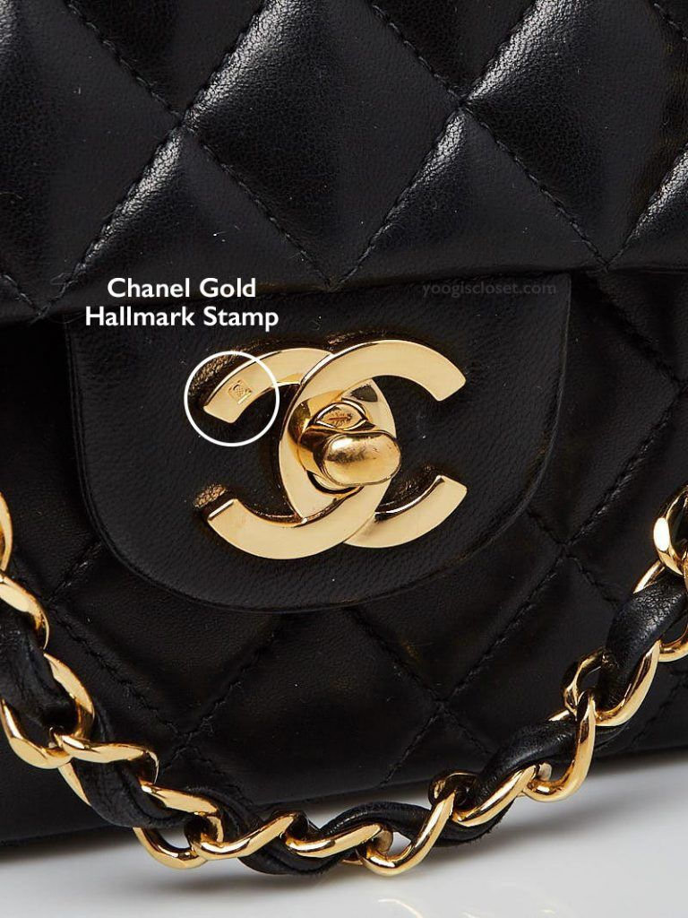 b34946fb Are Chanel Bags Made With Real Gold? | Handbag Authenticity ...