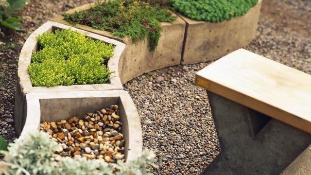 gartendekoration aus beton selber machen #3   garten + terasse, Garten Ideen