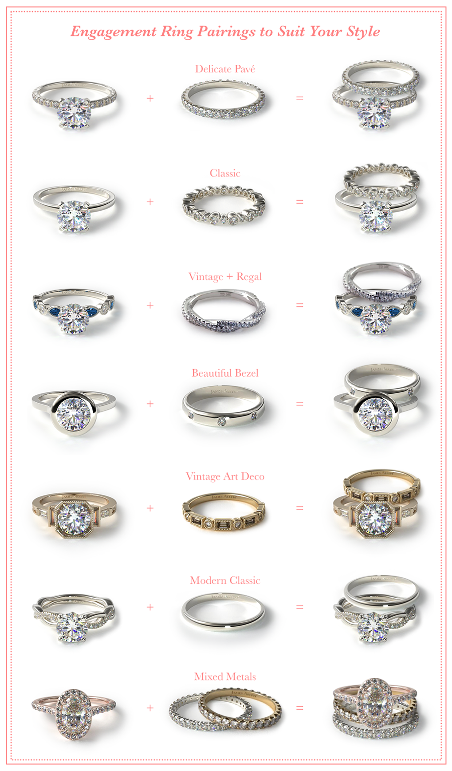Your Wedding Ring Can Actually Be Another Opportunity To Shine All You Have To Do Is Decid Shop Engagement Rings Wedding Ring Bands Favorite Engagement Rings