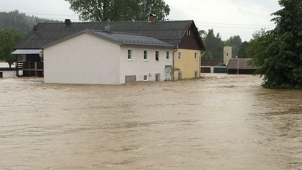 Julbach Hochwasser