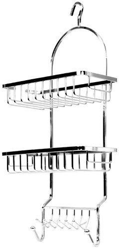 77787a15b4e Should read Taymor Chrome Jumbo Shower Caddy with Square Baskets by Taymor  Industries.  21.94.