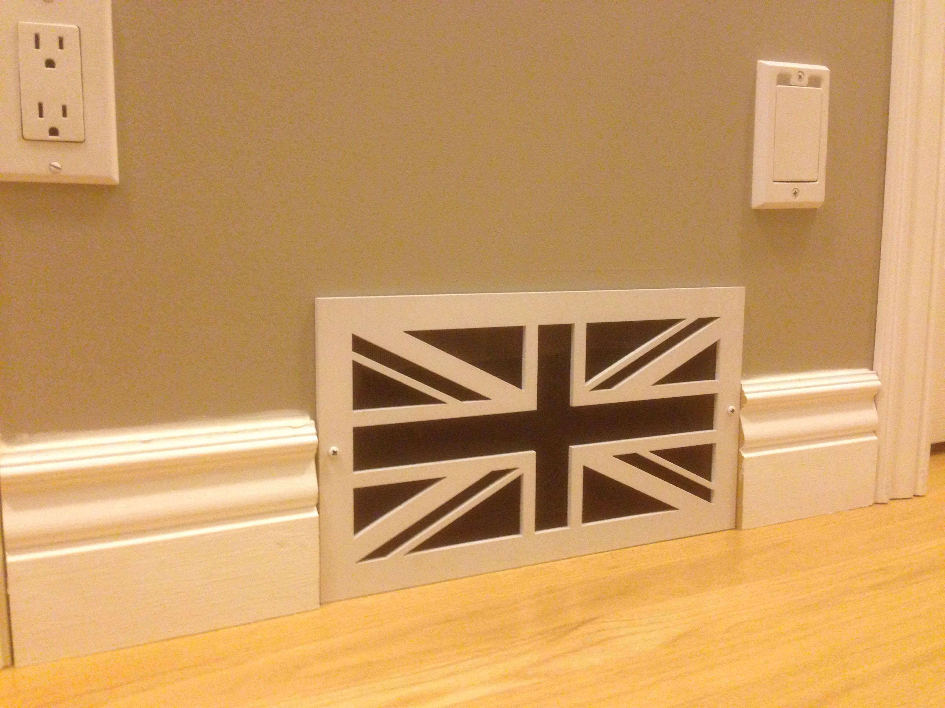 Vent cover UK Style House inside