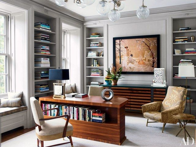 6 Contemporary Rooms By Shawn Henderson Interior Design Townhouse Interior Home Office Design Interior Design
