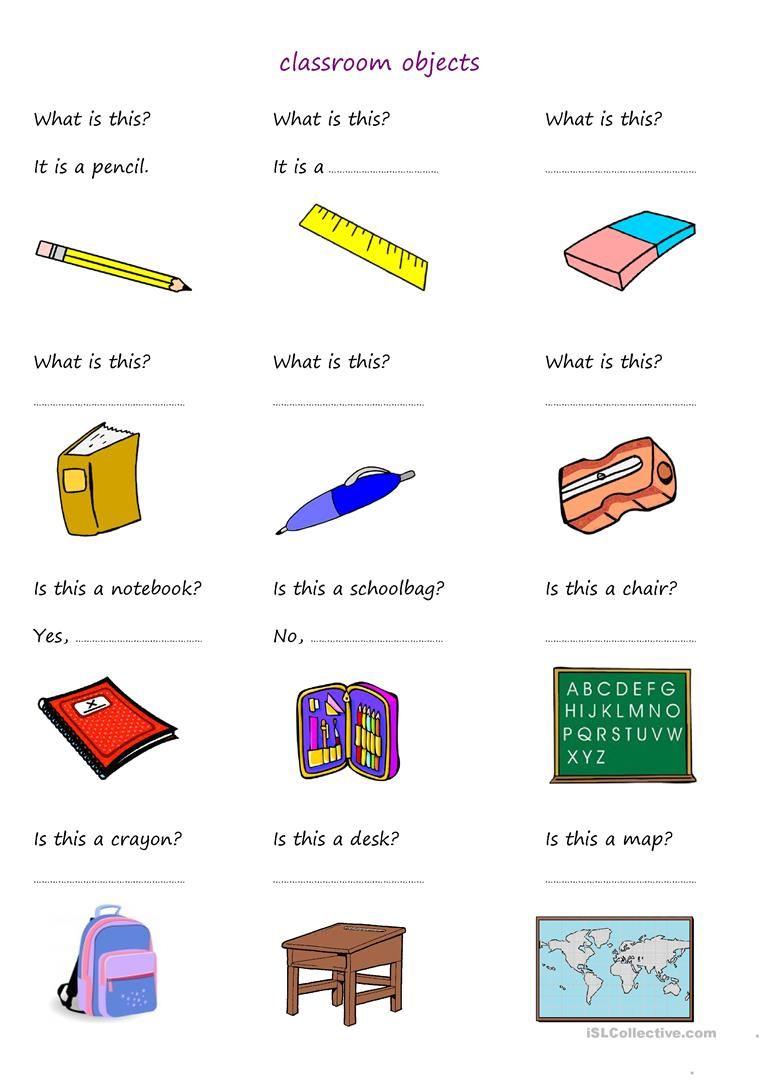 School Objects Worksheets Pdf Image Collections Worksheet For Posesivos En Ingles Objetos En Ingles Actividades De Ingles [ 1079 x 763 Pixel ]