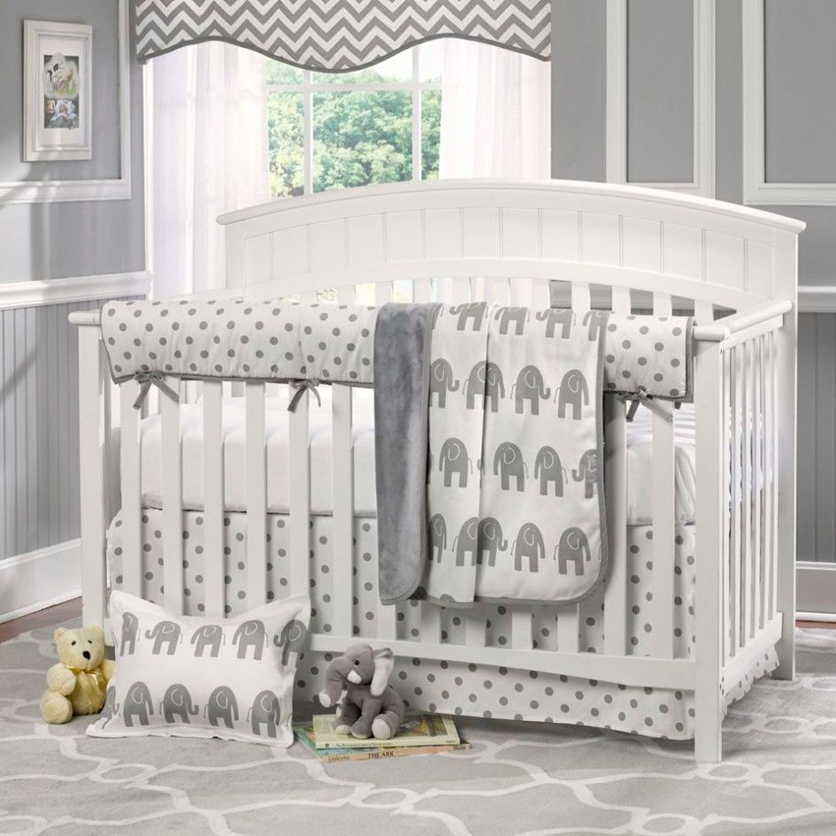 20 Extremely Lovely Neutral Nursery Room Decor Ideas That: Baby Nursery Baby Nursery Lovely Elephant Unisex Baby