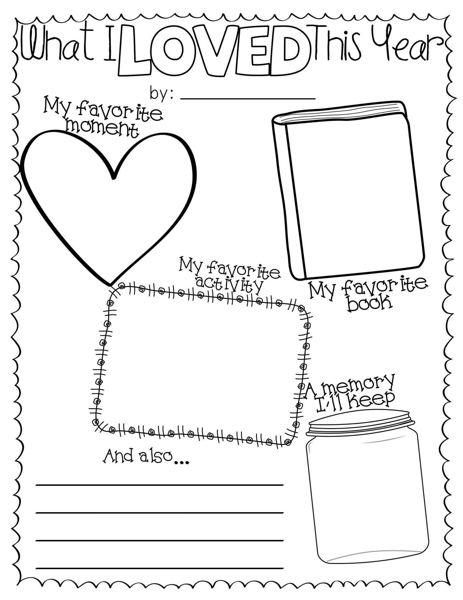 17 End Of The Year Worksheets 5th Grade End Of Year Activities School Worksheets Kindergarten Worksheets Printable [ 1980 x 1530 Pixel ]