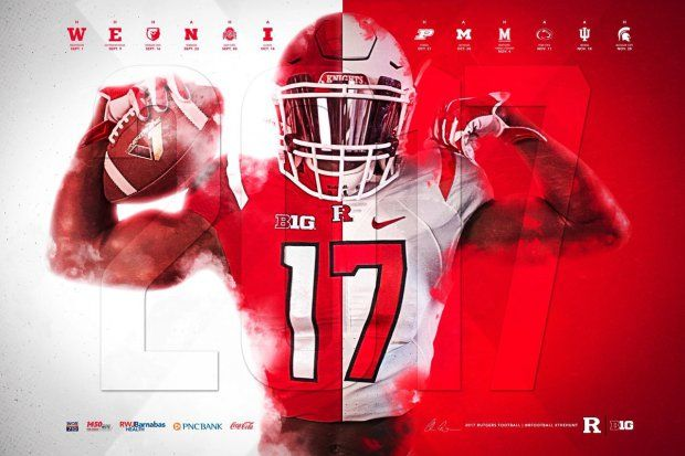2017 College Football Poster Spring Watchlist Football Poster Spring Football American Football Players