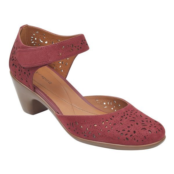 2c7cc46a7676 Cindie Mary Jane Heels Easy Spirit