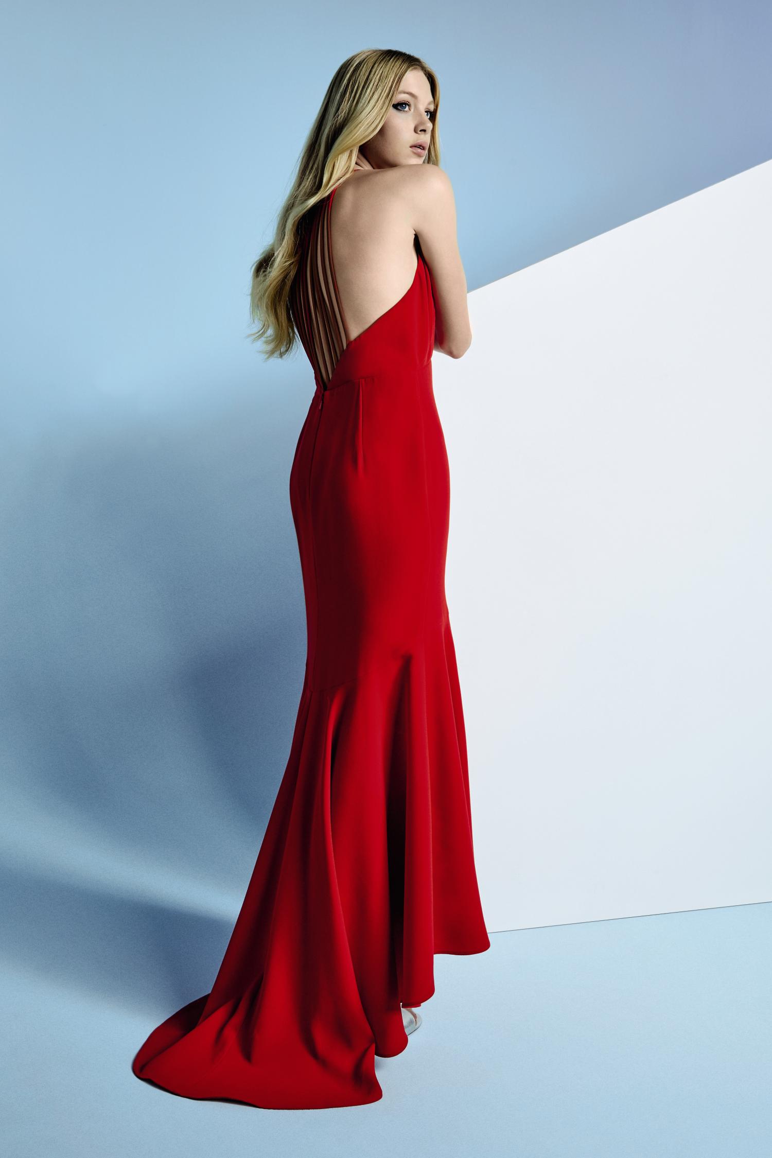 Bold backless red prom dress prom dresses pinterest prom bald