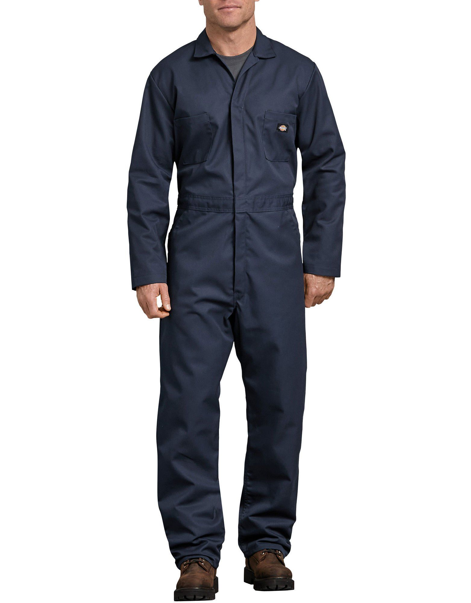blended long sleeve coveralls dark navy in 2020 mens on best insulated coveralls for men id=56678