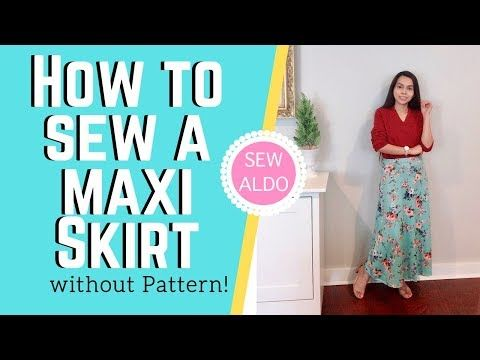 Photo of SEWING: DIY MAXI SKIRT | Sewing Projects for Beginners