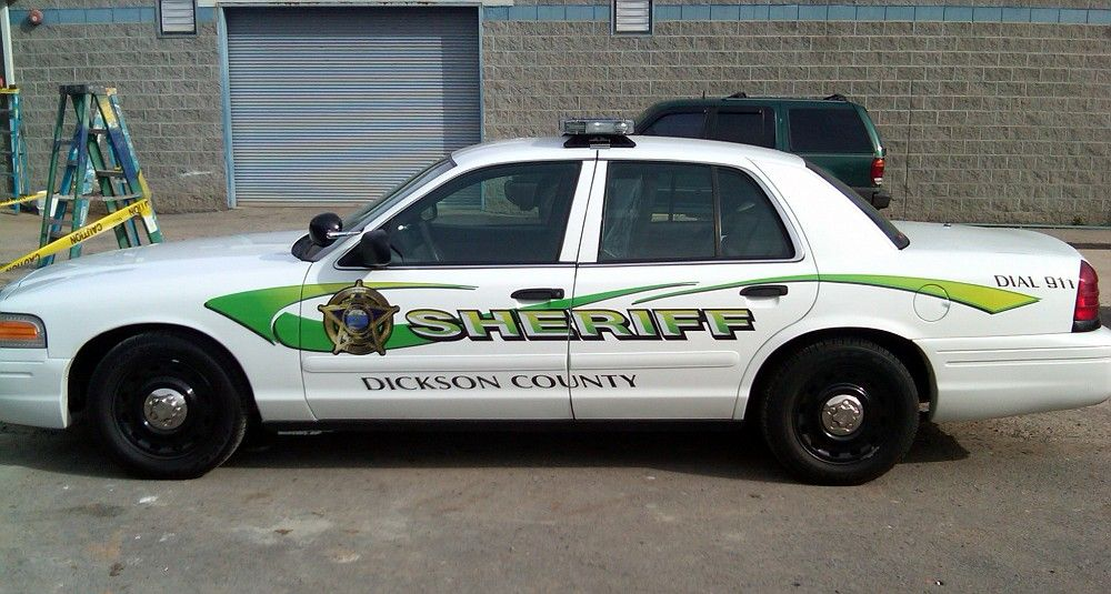 Dickson county tn sheriff 2005 ford cvpi ford police