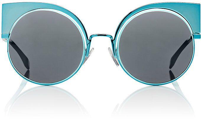 e59881fd84b Fendi Women s Eyeshine Cat-Eye Sunglasses-Blue
