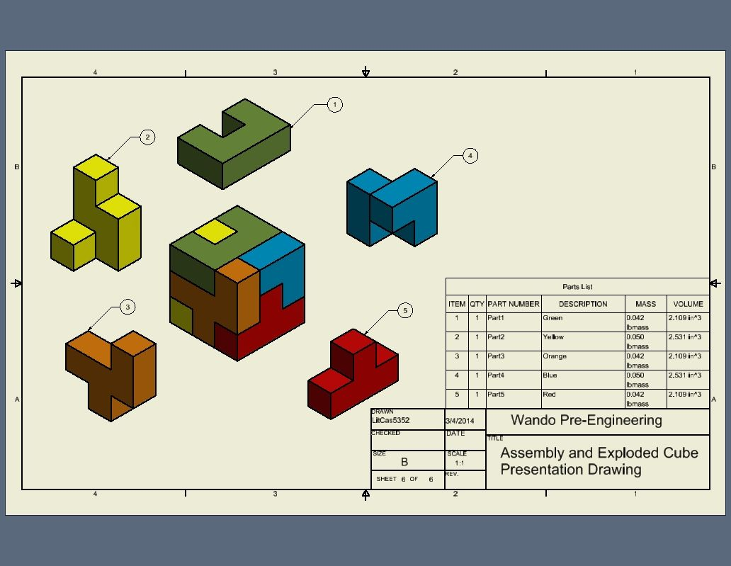 Puzzle Cube Project