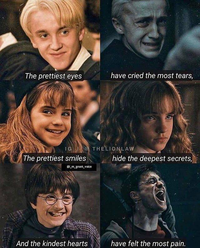 Harry Potter cringe.