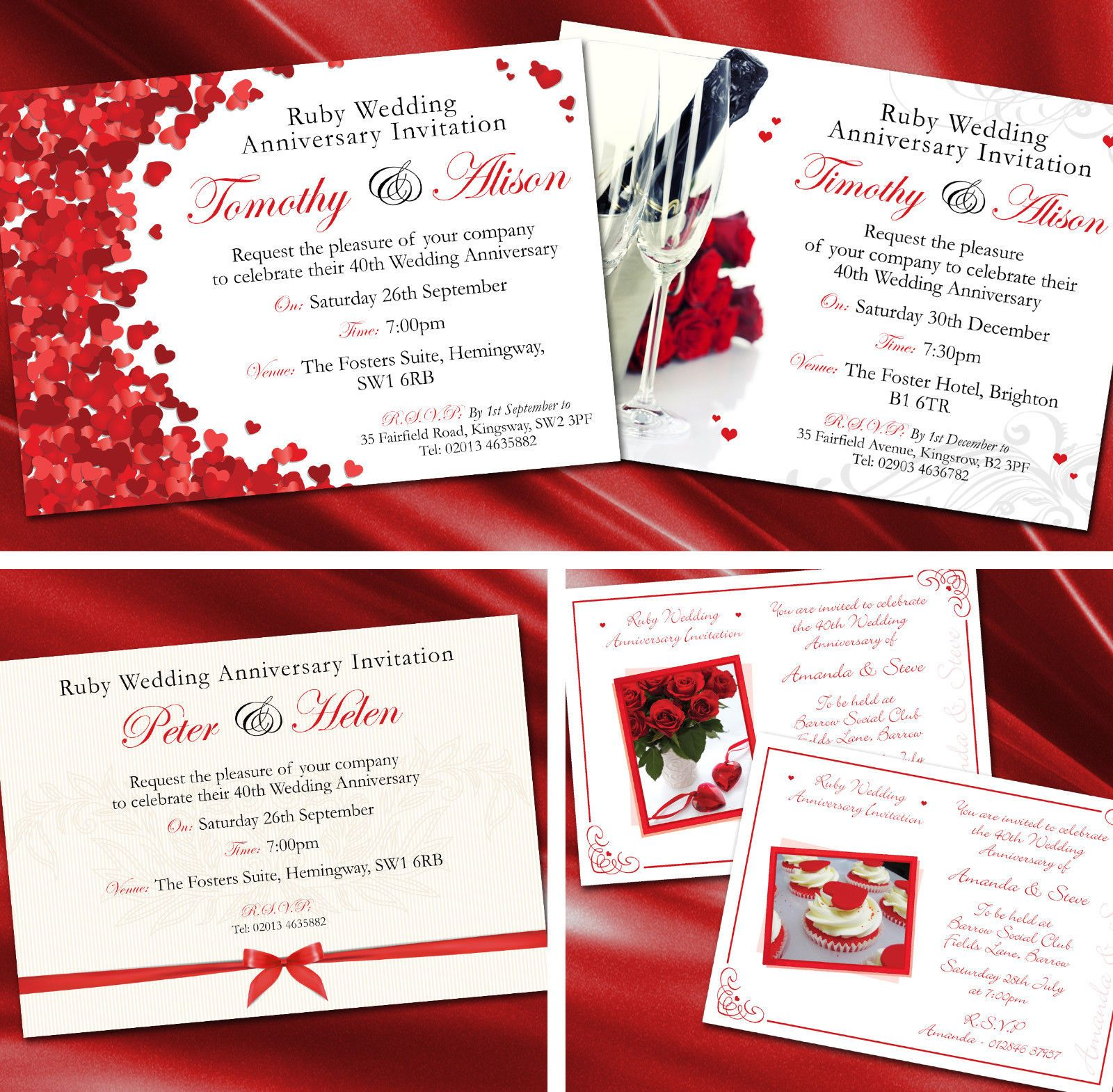 Fantastic Time On Wedding Invitation Collection - Invitations and ...