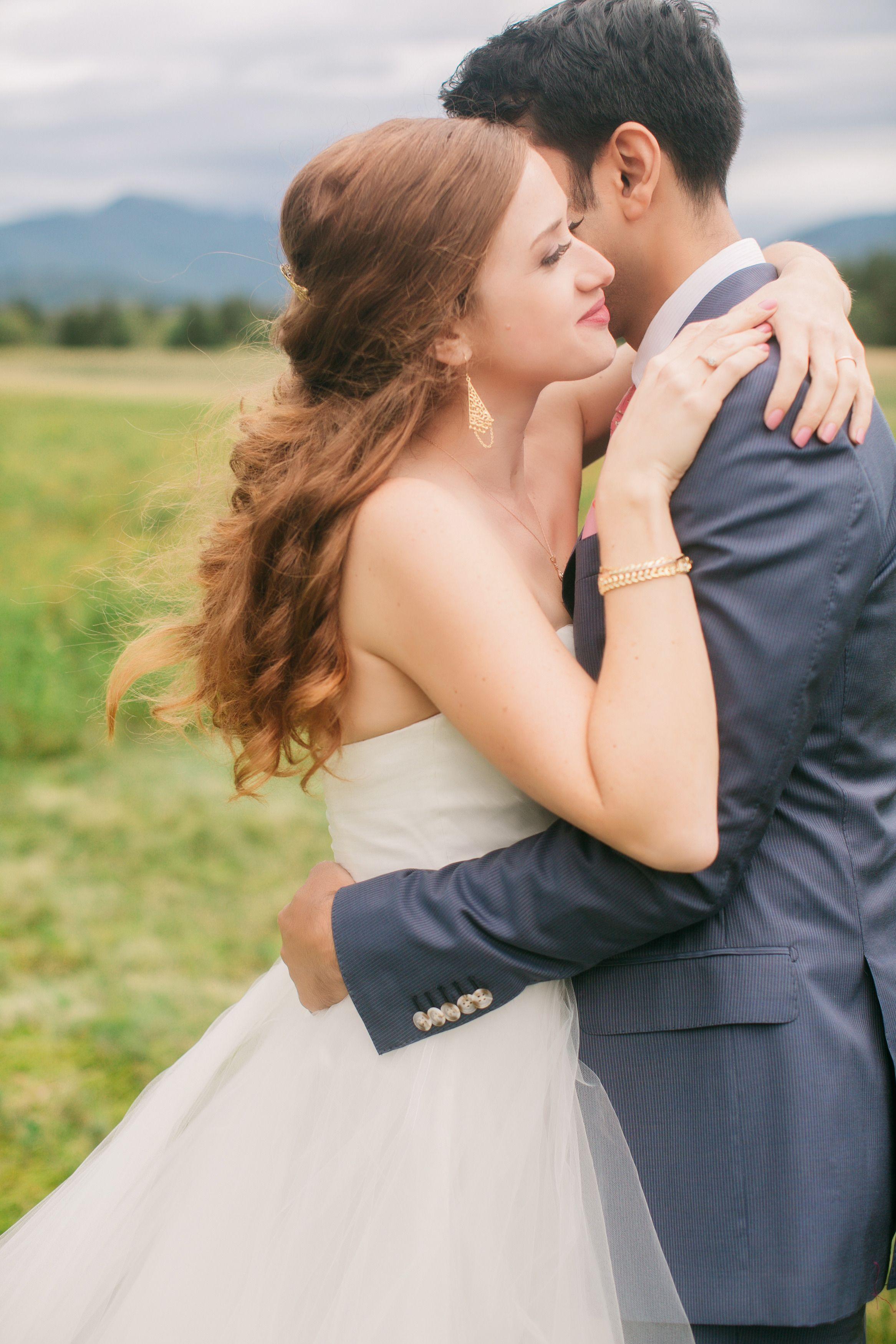 bright coral wedding on lake placid   wedding dresses