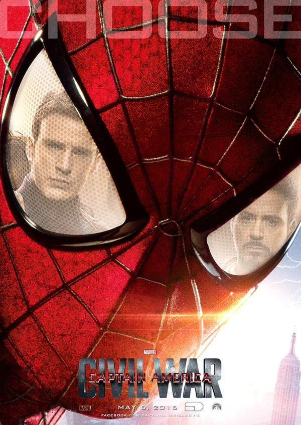 spider-man-must-choose-in-captain-america-civil-war-fan-poster