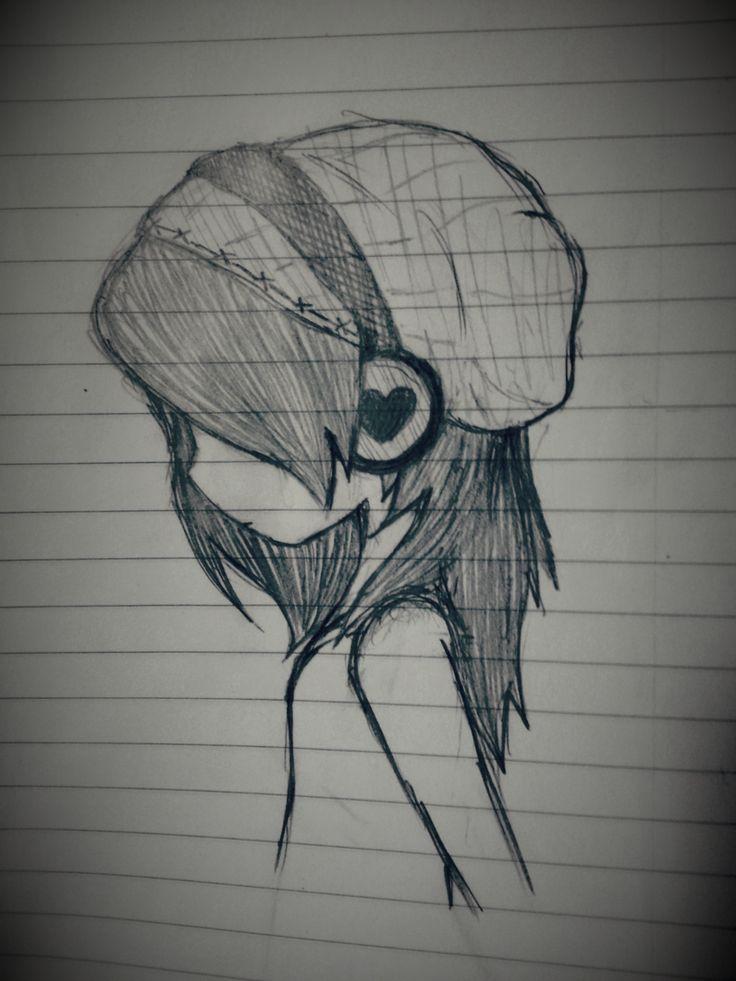 Imagenes De Emos Tristes Para Dibujar A Lapiz Amatwallpaperorg