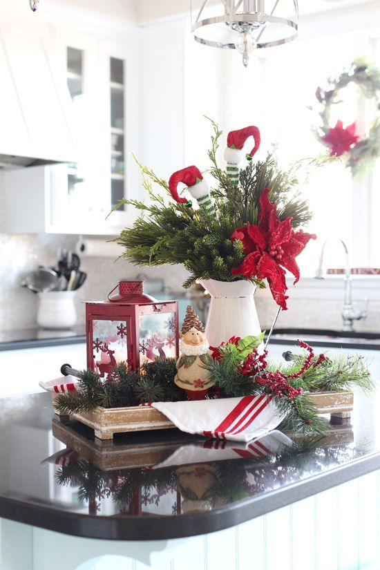 Photo of Christmas Centerpiece