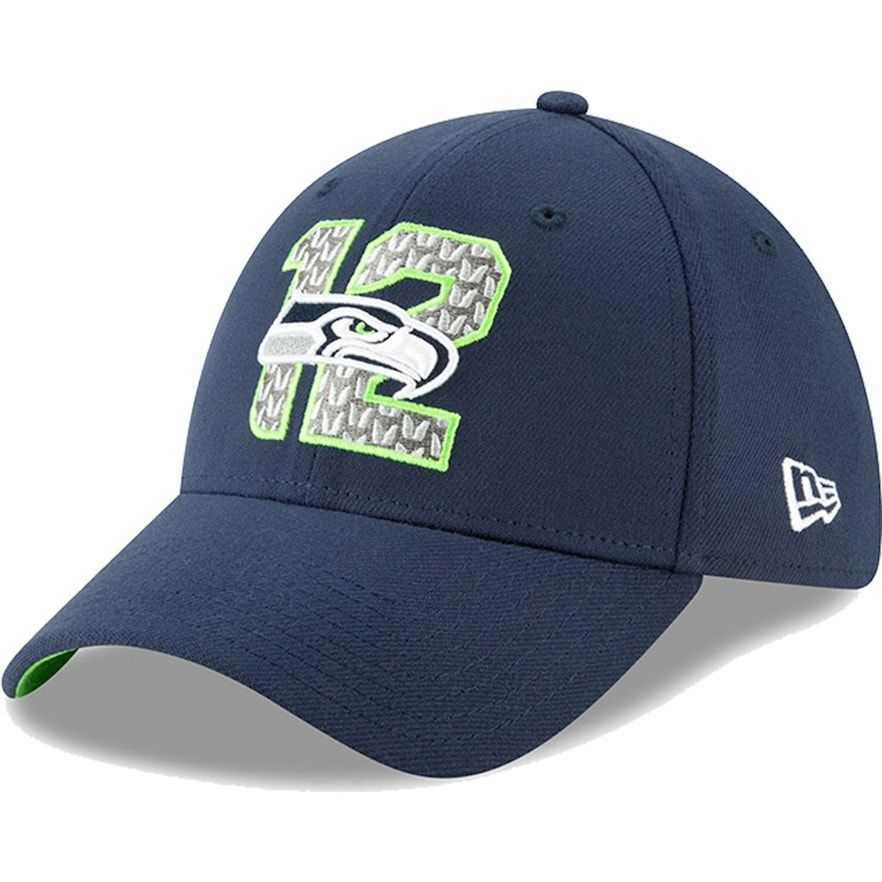 free shipping new styles official shop Seattle Seahawks New Era 2019 NFL Draft On-Stage Official 39THIRTY ...
