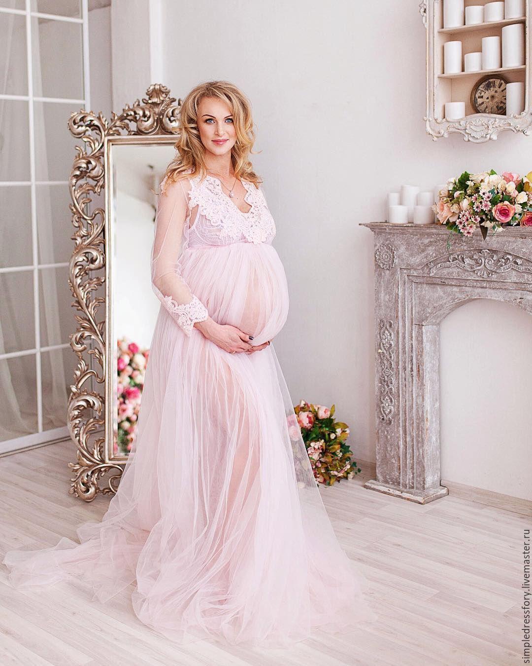 Будуарное платье (пеньюар) для беременных – купить в интернет-магазине на  Ярмарке Мастеров с доставкой decbdff7f0310
