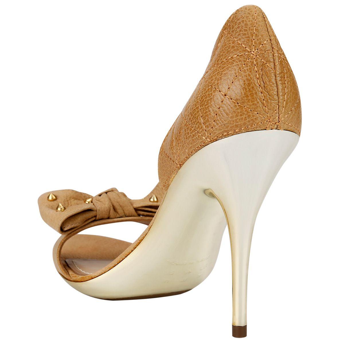 187a80569 Compre Peep Toe Dumond Laço Bege na Zattini a nova loja de moda online da  Netshoes. Encontre Sapatos, Sandálias, Bolsas e Acessórios. Clique e  Confira!