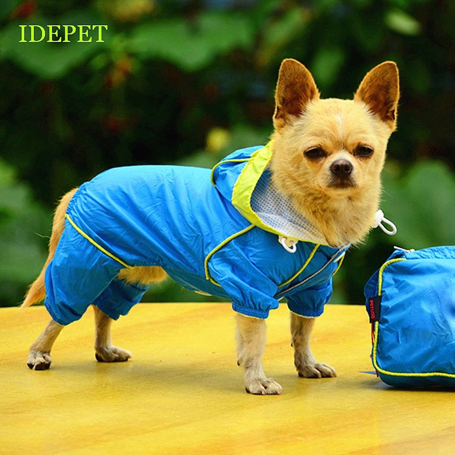 Dog Raincoats For Dog Clothes Waterproof Pet Raincoat For Puppy Dogs Supply Jumpsuit Jacket Pet Products For Chihuahua 05 S1 Waterproof Dog Coats Dog Raincoat Dog Clothes