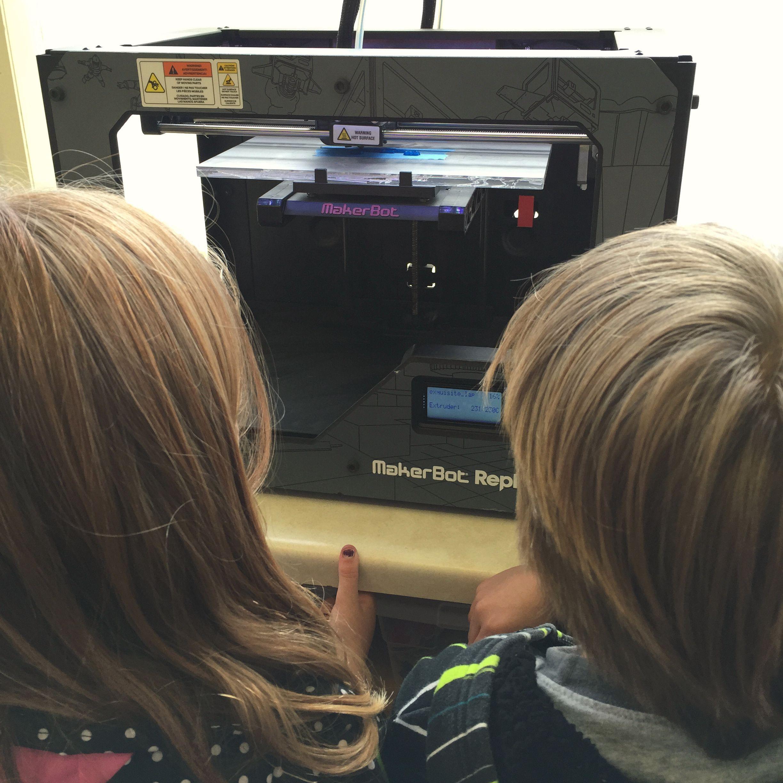 When My Kindergarten Class Got a 3-D Printer