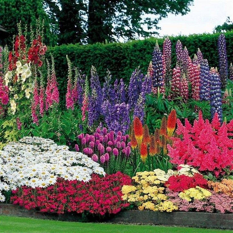 45 Iteresting Flower Garden Ideas For Your Home Garden Gardenideas Gardendesign If You Wan Flower Garden Design Beautiful Gardens Front Yard Landscaping
