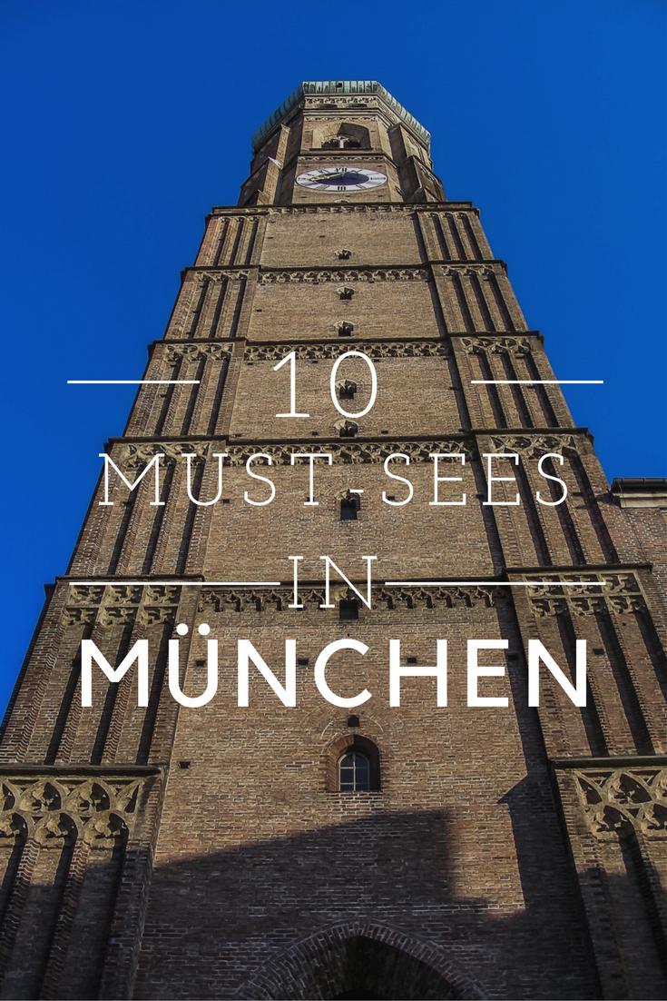 """Nicht nur zum alljährlichen """"O'zapft is!"""" zeigt sich die bayrische Hauptstadt in Dirndl und Lederhosen von ihrer schönen Seite. Lest hier, welche Sehenswürdigkeiten ihr bei einem Trip nach München auf keinen Fall verpassen dürft! #münchen #minga #bayern #heimatliebe #frauenkirche"""