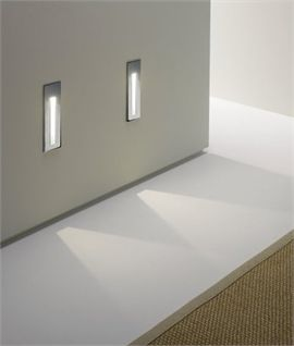 Low Level Cast Light Led Ip20 Or Ip65 Option With Images Recessed Wall Lights New Bathroom Designs Led Lights
