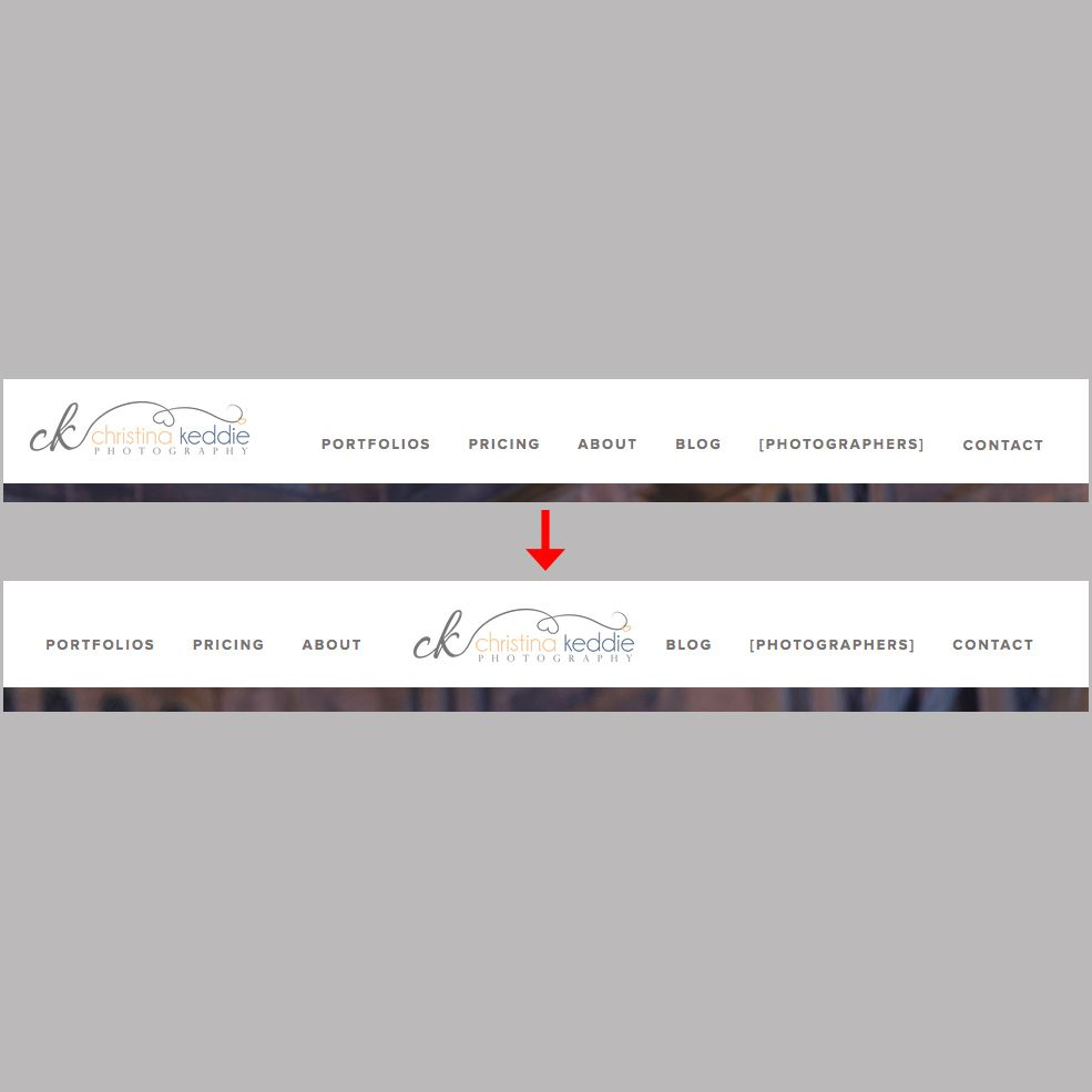 Splitting your navigation bar in a responsive way on Squarespace ...