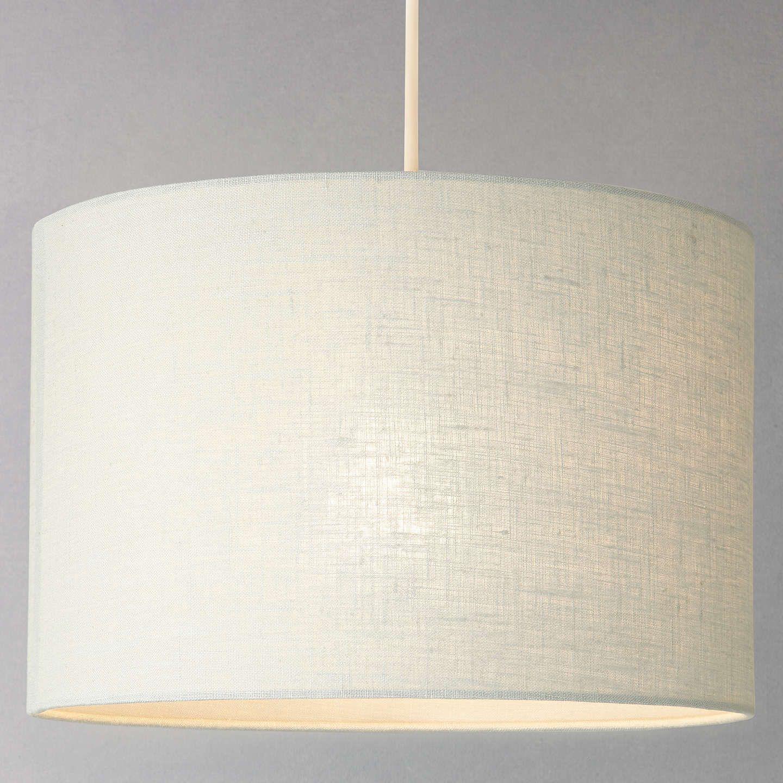 Buyjohn Lewis Samantha Drum Linen Lampshade Fir Green Dia 25cm Online At Johnlewis Com Ceiling Lamps Bedroom Ceiling Lamp Lamp