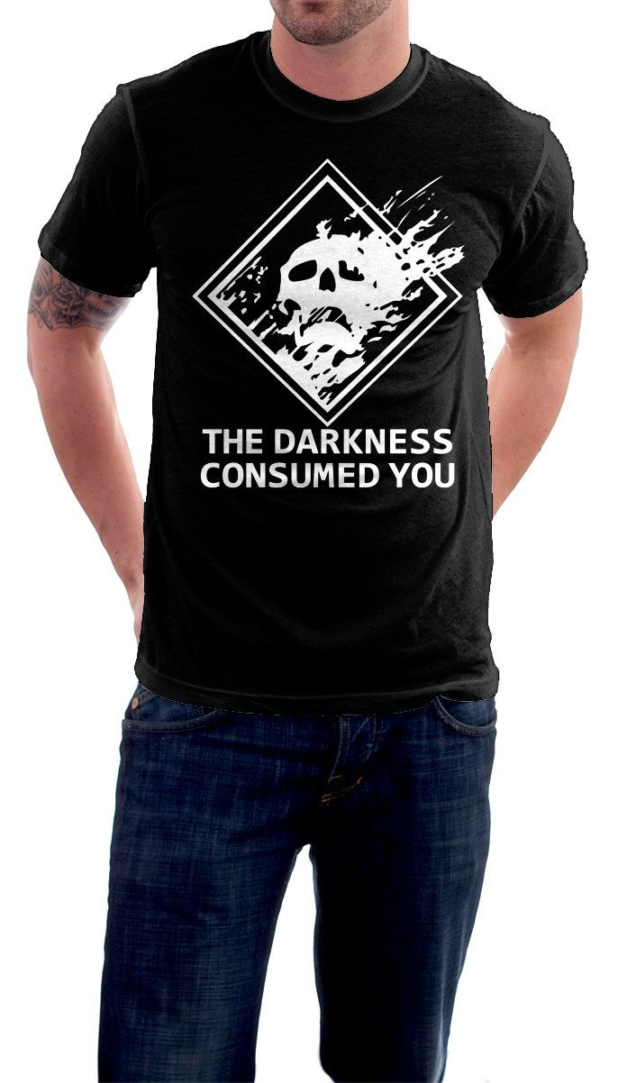 Shirt design video - Destiny Darkness Video Game Parody Homage T Shirt Darkness Has Consumed You