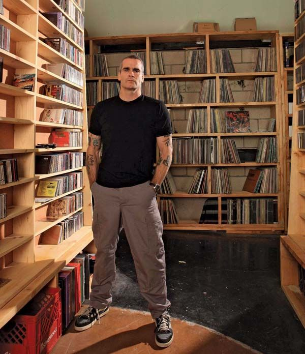 Henry Rollins Record Collection
