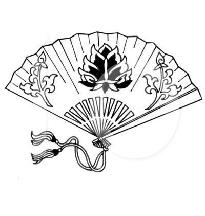 Japanese Hand Fans Hand Fan Clip Art Clip Art Geisha