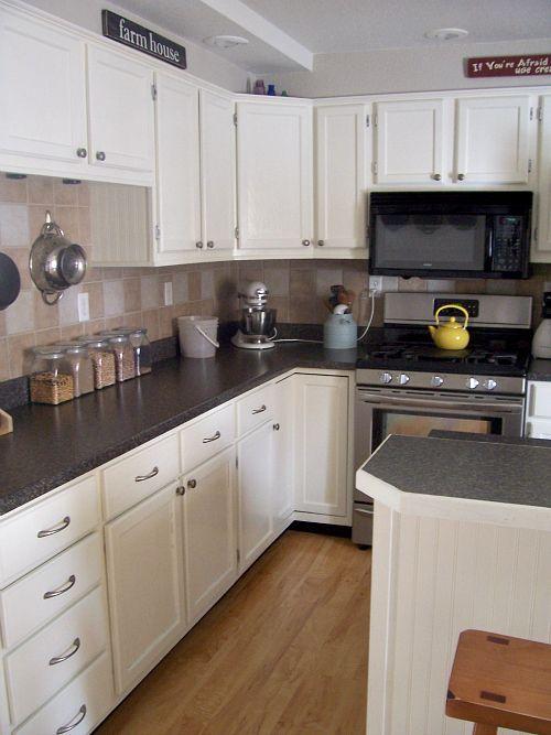Acadia White Kitchen Cabinets - Iwn Kitchen