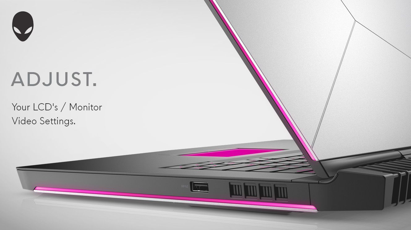 Configure Your Alienware Pc S Windows Display Settings To Maximize Gaming Experience Alienware Lcd Monitor Windows