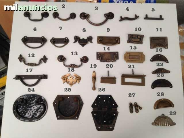 Herrajes y tiradores rusticos y mas foto 1 chiquita - Tiradores para muebles antiguos ...