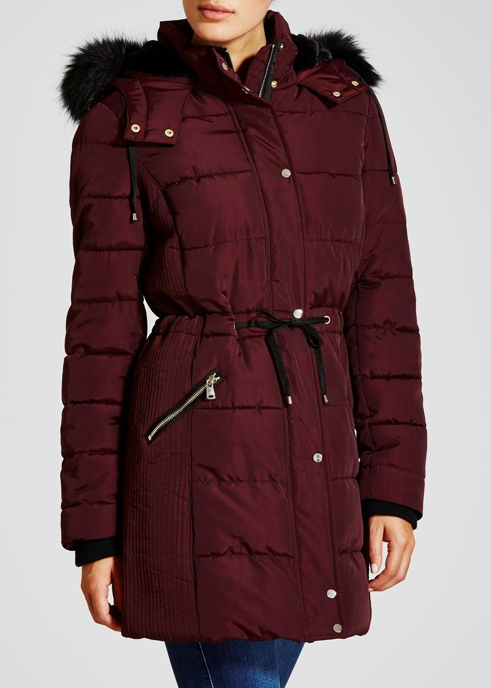 01cf0e79ad79 matalan Long Padded Coat | 2016/17 new season long puffer coats i ...