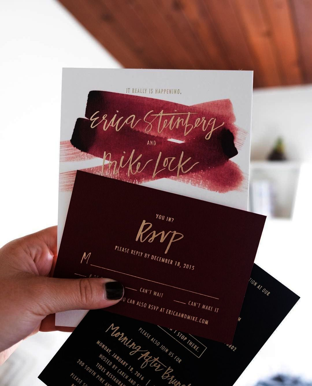 Awesome Wedding Invites Etsy Model - Invitations and Announcements ...