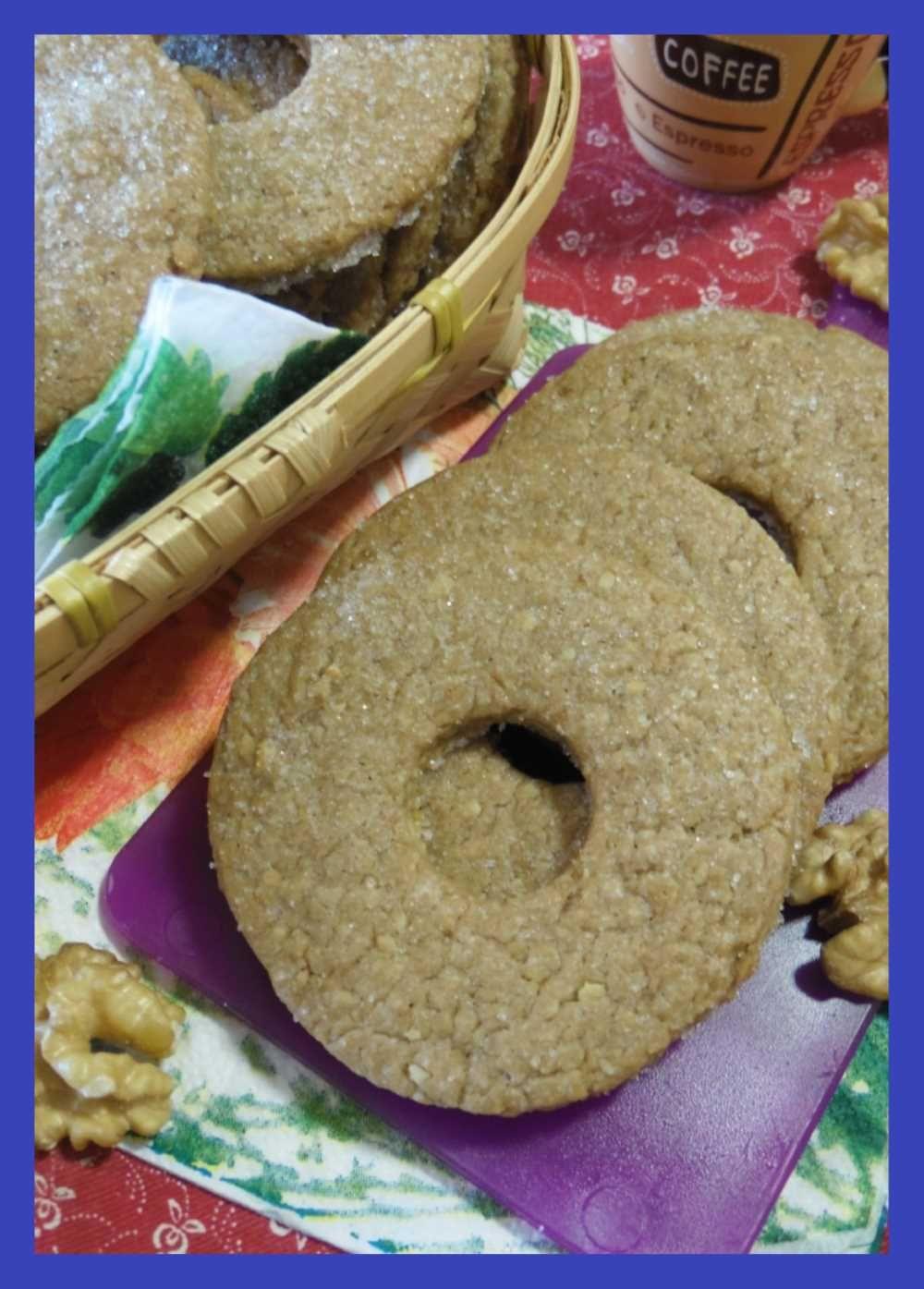Ciambelline con noci e caffè Ricetta Ricette, Idee