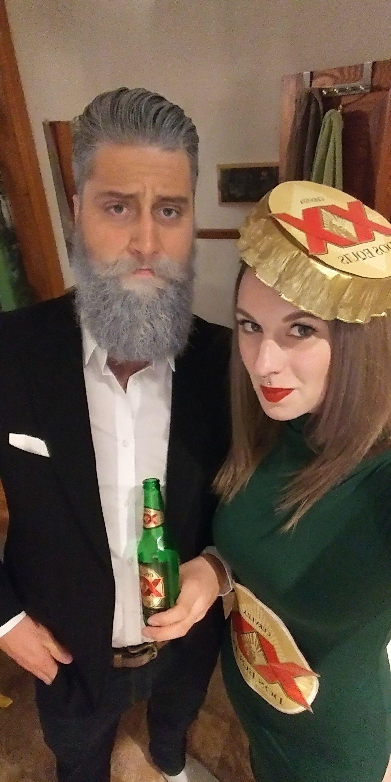 Last minute Halloween costume - diy costume - couple costume