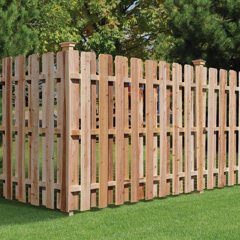 Outdoor Essentials 4 In X 4 In X 8 Ft Western Red Cedar Fence Post 2 Pack 2pack Cedar Essentials Fe In 2020 Cedar Wood Fence Cedar Fence Cedar Fence Posts