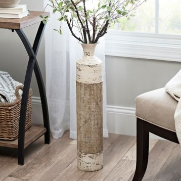Kirkland S Tall Vase Decor Farmhouse Vases Rustic Floor Vase