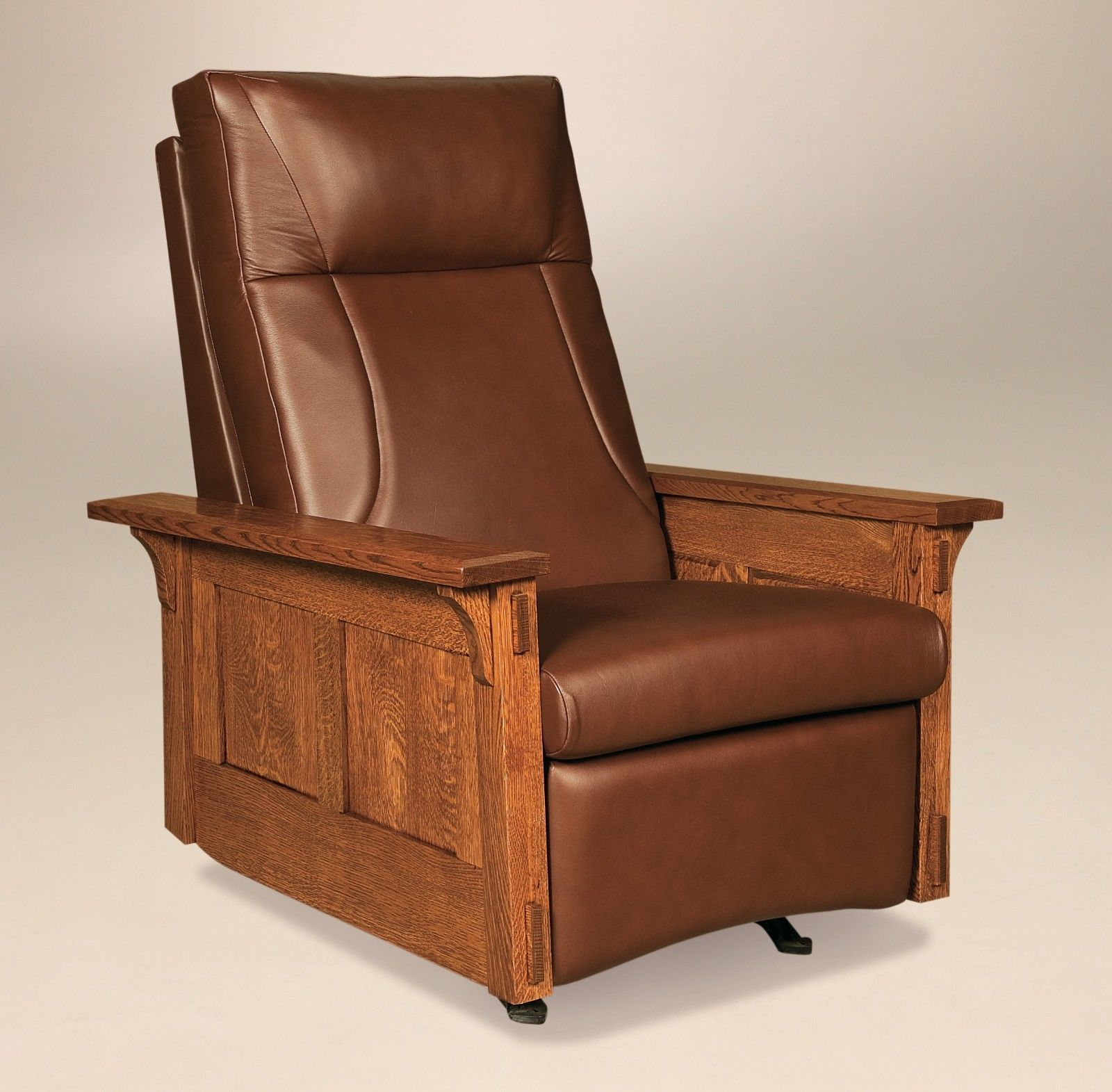 Details About Amish Mission Arts And Crafts Recliner